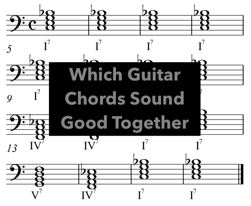 Which Guitar Chords Sound Good Together