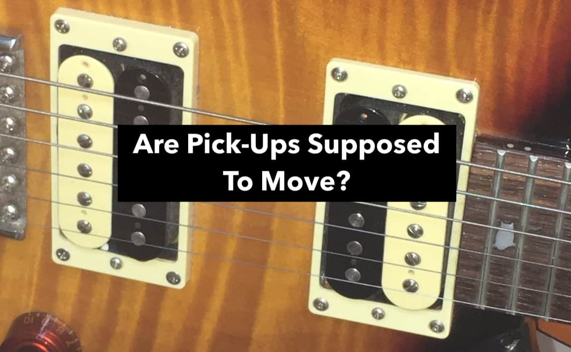(Main) Are Pick-Ups Supposed To Move? (Edited)