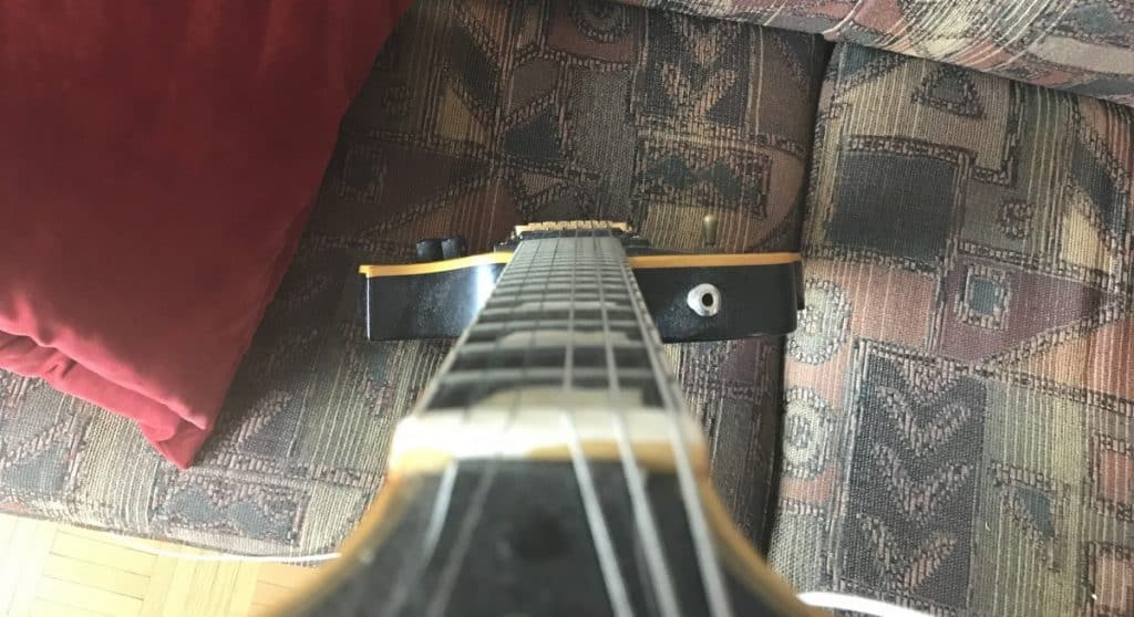 Eye Ball Method - Warped Guitar Neck