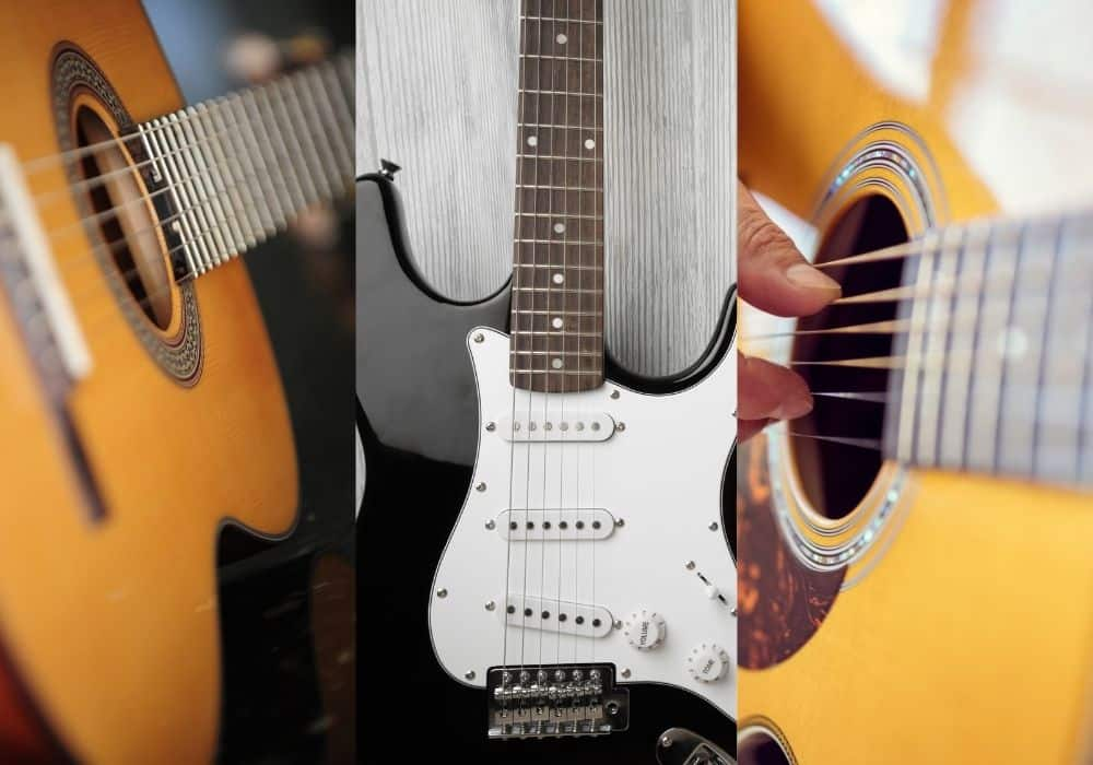 Nylon - Electric - Acoustic - Guiitar