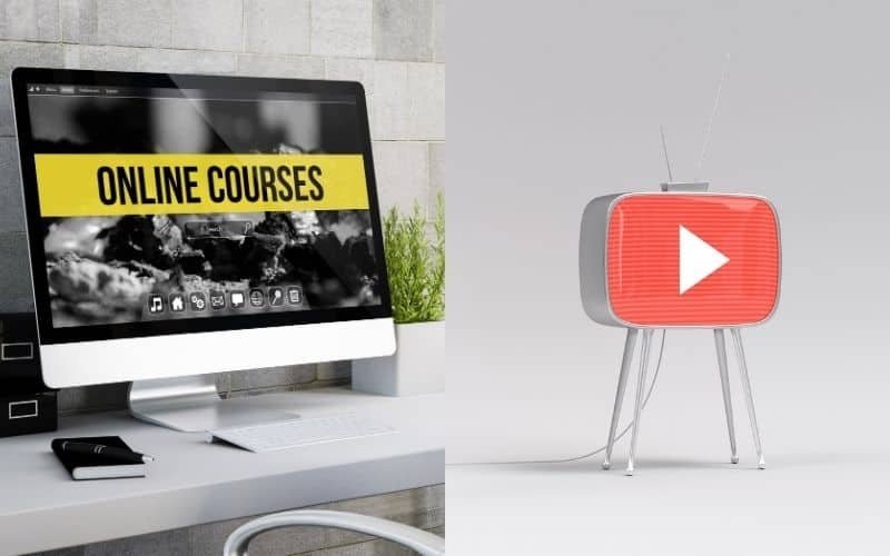 Online Courses and YouTube