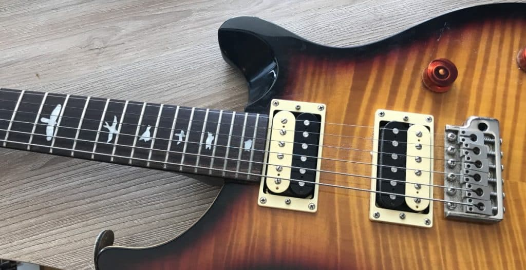 Guitar on Its Back