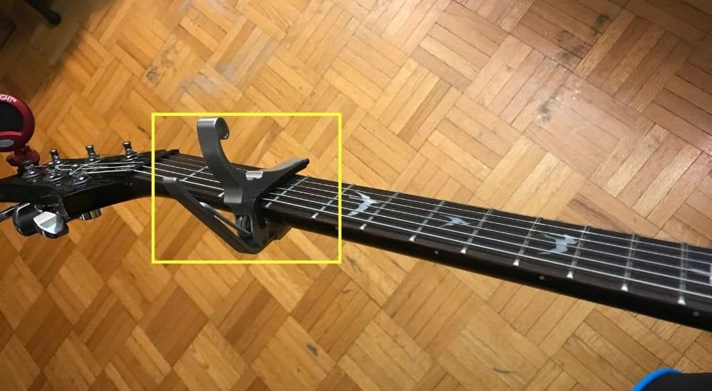 Capo on 3rd Fret - Can Bass Guitars Have Capos
